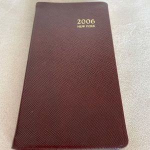 Tiffany & Co 2006 personal pocket journal NYC EDIT